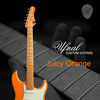 ufnal custom guitars juicy orange 1